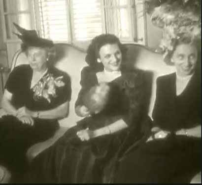 Margaret and Bess Truman in Havana with Cuba's First Lady. (Youtube)